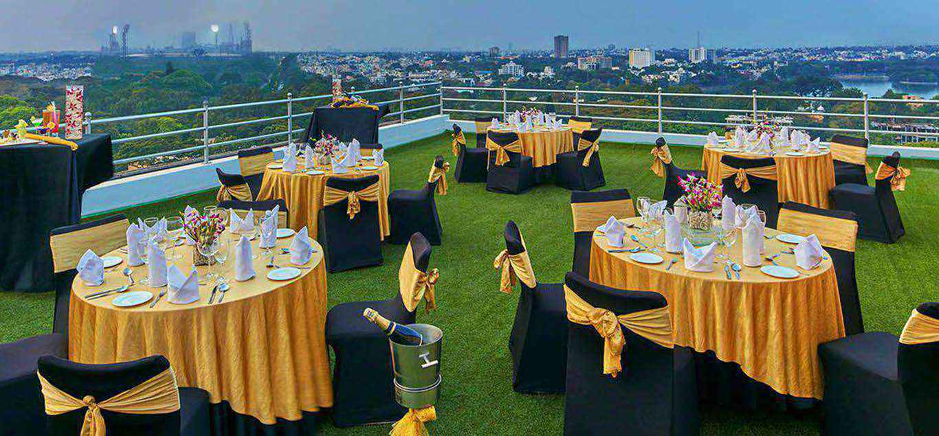 Fine dining restaurants in bangalore royal orchid central for Terrace restaurants in bangalore