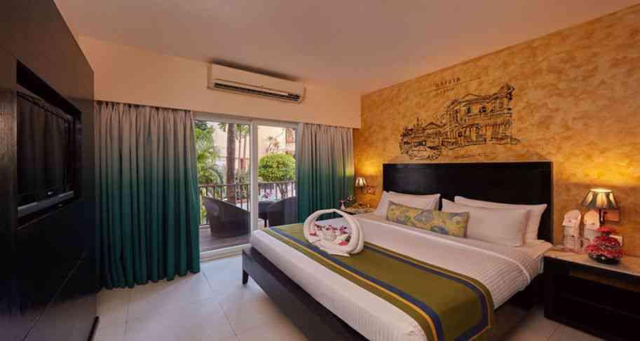 four star and three star hotels in goa