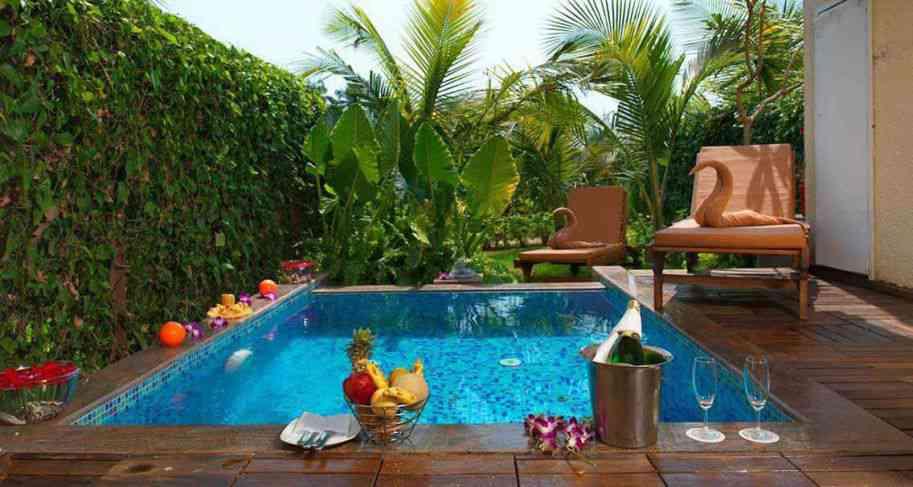 Royal Suites In Plunge Pool Luxury Suites In Goa 5 Star